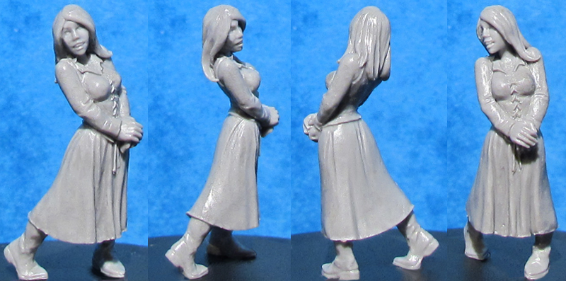 HFMASTER V012 Resin Master - Young Maiden