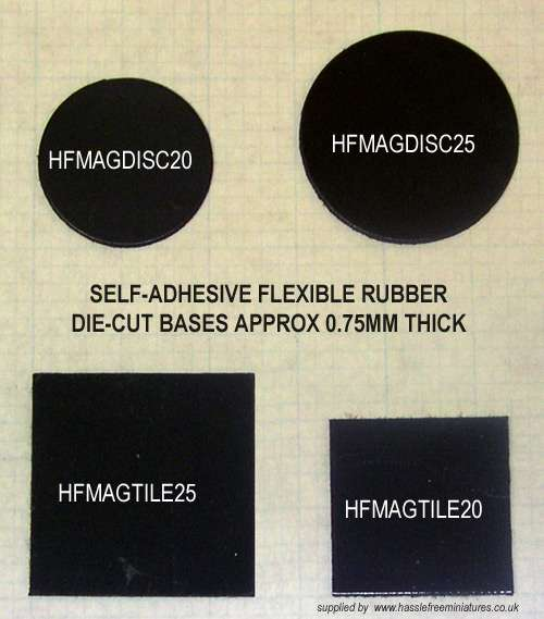 HFMAGDISC30X100 30mm diameter disc (x100)