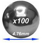 Chrome steel balls  4.76mm diameter
