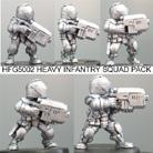 Heavy Infantry Squad (Helmeted)