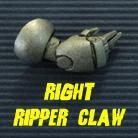 Powered Armour - Right Arm 7 - Ripper Claw