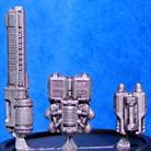Powered Armour - Assault Backpack Sprue