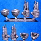 Powered Armour - Robotic Arms Sprue