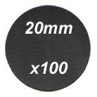 20mm diameter disc (x100)