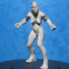 Resin Master - Female Orc Dolly