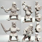 Dwarf Pack  w Hand Weapons