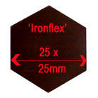 25mm Diameter Ironflex Hexagon