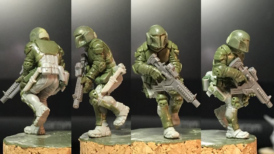 HFMASTER SF137 Resin Master - Lt. Logan