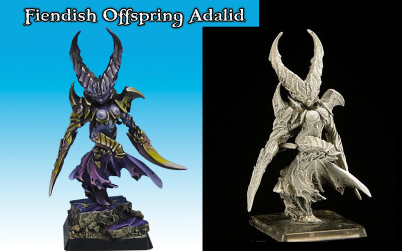 GZ-01-05 Gamezone - Fiendish Offspring Adalid