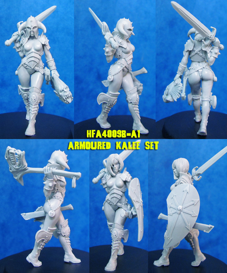 HF4009B-A1 40mm Kalee - Armoured Set (resin)