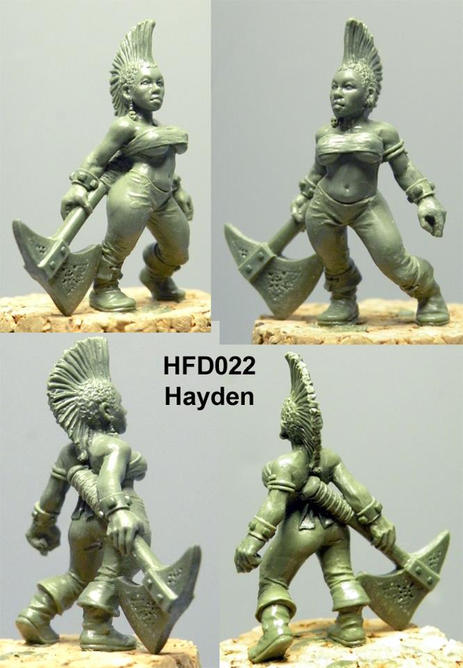 HFD027B Hayden (resin)