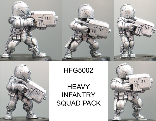 HFG5002 Heavy Infantry Squad (Helmeted)
