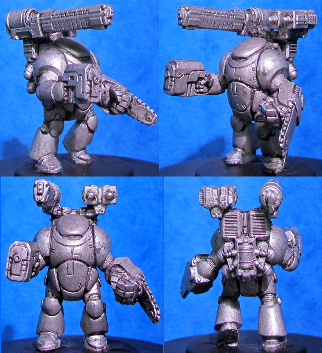 HFG591 Powered Armour - Assault Backpack Sprue