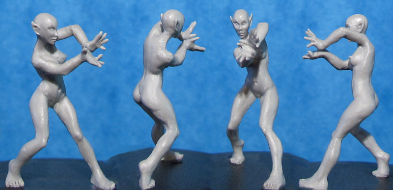 HFMASTER L604 Resin Master - Spellcasting Elf Dolly