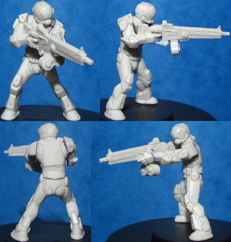 HFMASTER SF209 Resin Master - Sgt. Smallwood