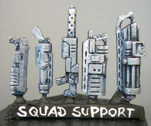HFL001 Sci-Fi Support Weapons