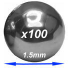 HFCSB015 Chrome steel balls  1.5mm diameter