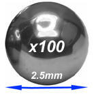 HFCSB025 Chrome steel balls  2.5mm diameter