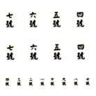 Chinese Numbers 5