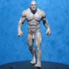 Resin Master - Striding Male Dolly