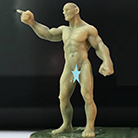 Resin Master - Pointing Male Dolly