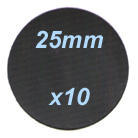 25mm diameter disc (x10)