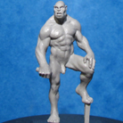 Resin Master - Male Orc Dolly