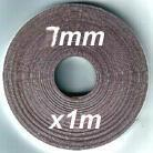 1m of 7mm width Magnetic tape