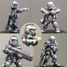 HFG5203 Light Infantry Squad(helmeted)