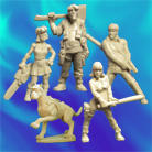 Resin Masters - Post-Apoc Gang (5)